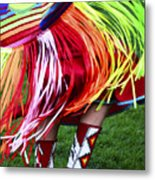 Pow Wow Beauty Of The Past 9 Metal Print