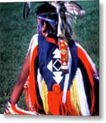 Pow-wow Colors Metal Print