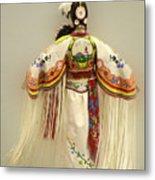 Pow Wow Traditional Dancer 3 Metal Print