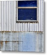 Powder Blu Metal Print