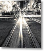Powell And Market Metal Print