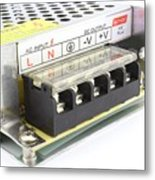 Power Adapter Metal Print