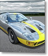 Power And Performance - Ford Gt40 Metal Print