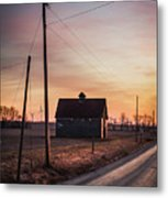 Power Farm Metal Print