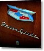 Power Glide Metal Print