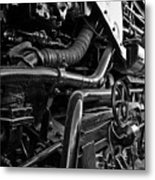 Power In The Age Of Steam 7 Metal Print