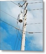 Power Line Boogie Woogie Metal Print