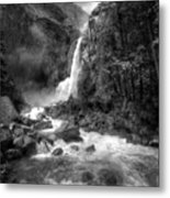 Power Of Water Metal Print