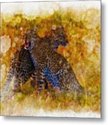 Power Strength And Beauty.  Metal Print