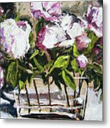 Power To The Peonies Metal Print