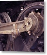 Power Train Metal Print