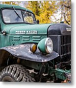 Power Wagon Metal Print