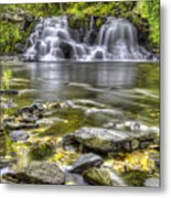 Powerhouse Falls Metal Print