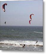 pr 122 - Five Windsurfers Metal Print
