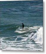 pr 127 - Solo Surfer Metal Print