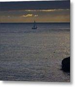 pr 237 - Evening Sail Metal Print