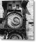 Prague Astronomical Clock 1410 Metal Print