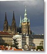 Prague Castle Complex Metal Print