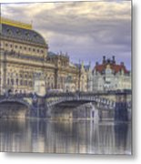 Prague, Czech Republic Metal Print