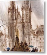 Prague Iv Metal Print by Svetlana and Sabir Gadghievs