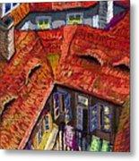 Prague Roofs 01 Metal Print by Yuriy  Shevchuk