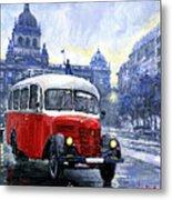 Praha Rnd Bus 1950 Skoda 706 Ro Metal Print