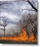 Prairie Fire Metal Print