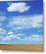 Prairie Landscape Alberta Canada Metal Print
