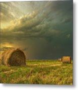 Prairie Storms Metal Print by Stuart Deacon