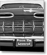 Praise The Lowered Metal Print