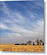 Prarie House Metal Print