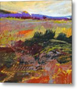 Prarie Sketch Metal Print