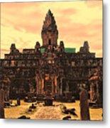 Prasat Bakong Temple I Metal Print