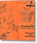Pratika 29 - 29f Metal Print