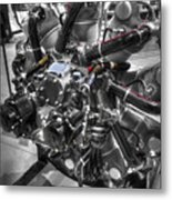 Pratt And Whitney  Engine Aeronautics Metal Print