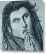 Pray For Peace Metal Print