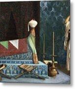 Prayer At The Sultan's Room  The Grief Of Akubar  Metal Print