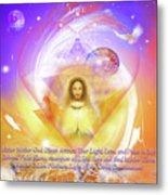Prayer Blessing Metal Print