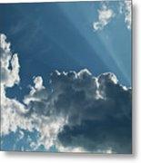 Prayer Cloud Metal Print