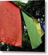 Prayer Flags Metal Print