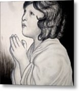 Prayer Is The Master-key Metal Print