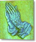 Prayer 3 Metal Print