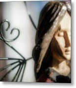 Prayerful Angel Metal Print