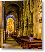 Prayers In The Cathedral Metal Print