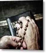 Praying For A Change Metal Print