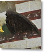 Praying For Our Country Metal Print by Kathy Jennings