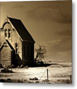 Praying For Rain 2 Metal Print