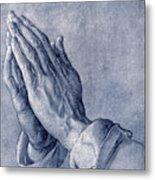 Praying Hands, Art By Durer Metal Print