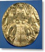 Pre-columbian Gold, 1000 Ad Metal Print