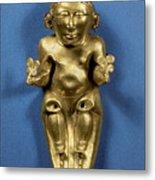 Pre-columbian Gold Metal Print